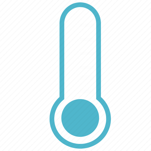 measure, temperature, thermometer icon