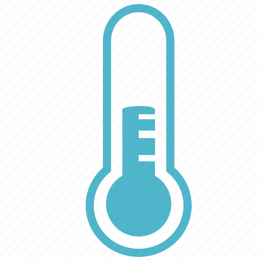 cold temperature thermometer icon