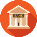 bank, banking, building, business, capital, credit, finance icon