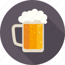 alcohol, amusement, bar, beer, beer glass, fun, pab icon