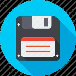 backup, data, disk, diskette, download, floppy, guardar, save icon