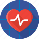 health, healthcare, heart, hospital, medical, medicine, pulse icon