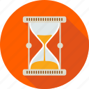 clock, deadline, hourglass, moment, sand, schedule, time icon