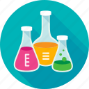 laboratory flask, test tubes, lab, experiment, test, laboratory, chemistry