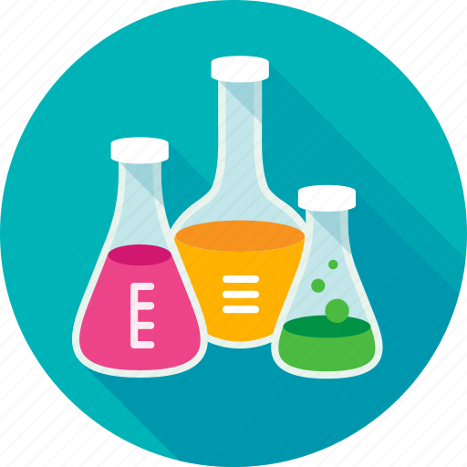 chemistry, experiment, lab, laboratory, laboratory flask, test, test tubes icon