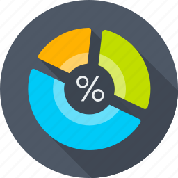 analytics, chart, office, pie chart, report, seo, statistic icon