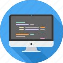 code, coding, css, development, editor, html, programming icon