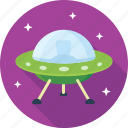 alien, fly, flying saucer, space, space vehicle, spaceship, ufo icon