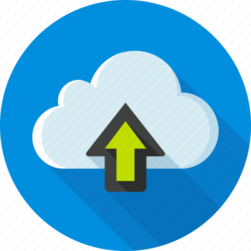 cloud, dropbox, status, storage, upload, uploading, web icon