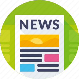 media, news, newspaper icon