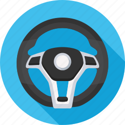 drive, helm, power steering, rudder, steering, wheel icon