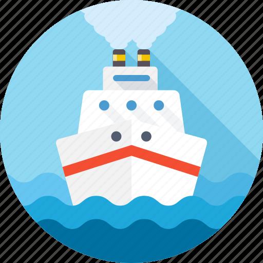 boat, cruise, sea, ship, transport, travel, voyage icon