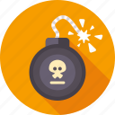 blast, bomb, danger, dynamite, explosion, tnt, weapon icon