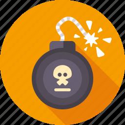 blast, bomb, danger, dynamite, explosion, tnt, weapon icon