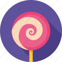 candy, dessert, lolipop, lollipop, lollypop, sweet, sweets icon