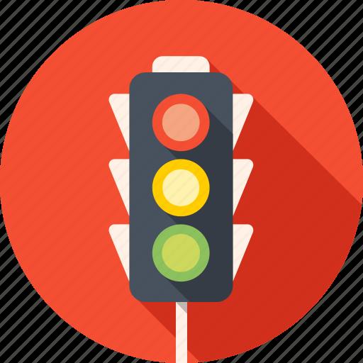 highway code, light, lights, signal, traffic, traffic light, waymark icon