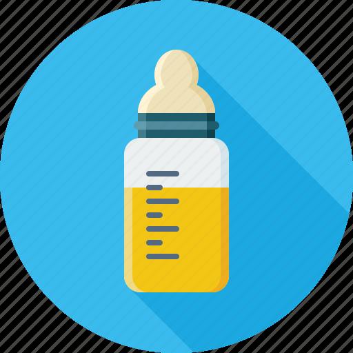 baby, baby bottle, bottle, child, drink, kid, milk icon