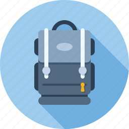 backpack, bag, education, school, tourism, travel icon