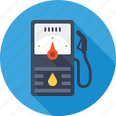 benzine, filling station, gas, gasoline, petrol, station icon