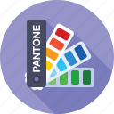 color, fun, palette, pantone, sample, swatch icon