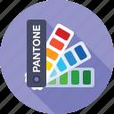 palette, color, sample, pantone, fun, swatch icon