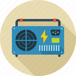 current, electronic, energy, power, transformer, voltage icon