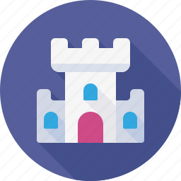 asylum, building, castle, fortress, history, tower icon