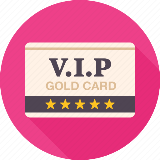 access, card, gold, privileges, vip, vip card icon