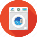 cleaning, machine, washing, washing machine, washing powder, washroom icon