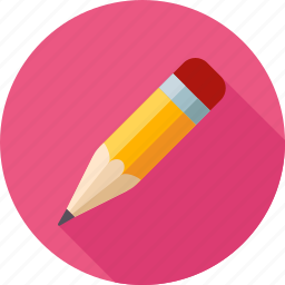 drawing, graphic, pencil, write, yellow icon