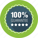 guarantee, label, quality, satisfaction, warranty icon