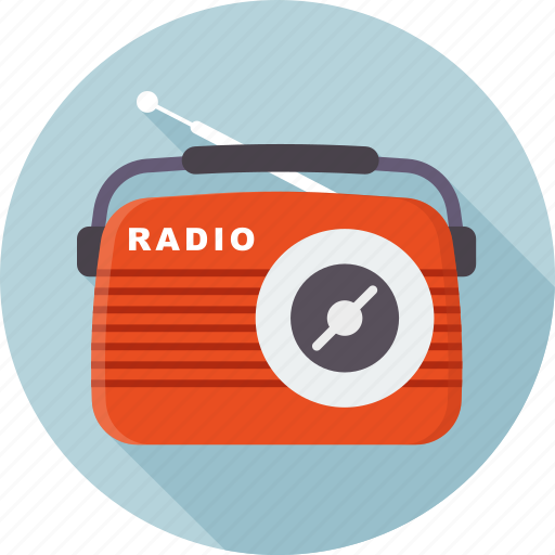 music, play, radio, radio station, retro icon