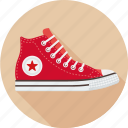 all star, converse, footwear, gumshoes, hipster, shoes icon