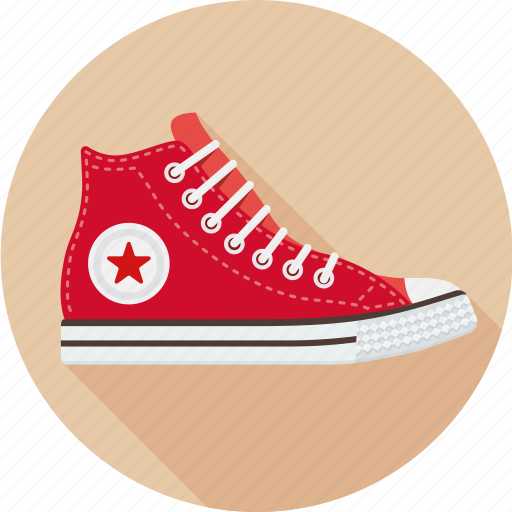 all star, convers, footwear, gumshoes, hipster, shoes icon
