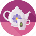 cup, green tea, tea, tea party, teapot, сeylon icon