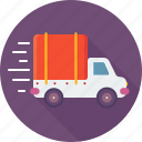 car, express delivery, shipping, transport, delivery truck