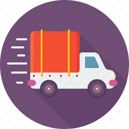 car, delivery truck, express delivery, shipping, transport icon