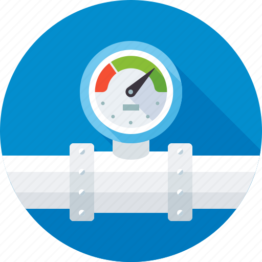 Communal, counter, gas, meter, pipeline, water icon - Download on Iconfinder