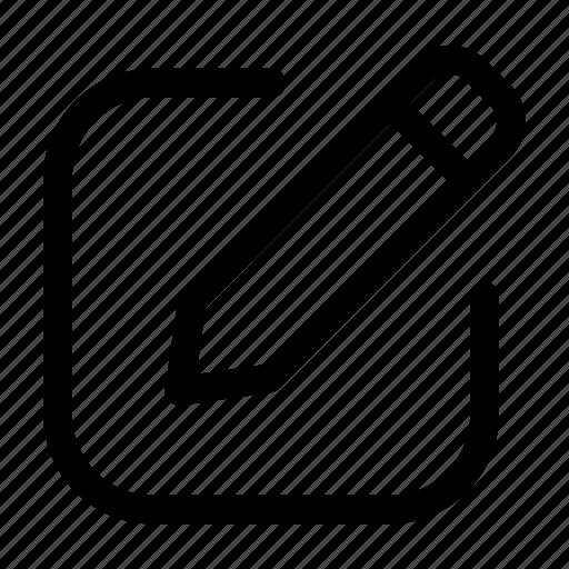 edit, pencil, post, update, write icon