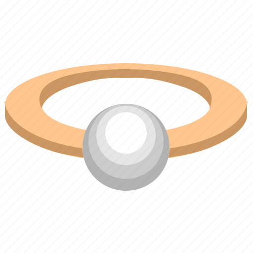 jewelry, pearl, product, rich, ring icon