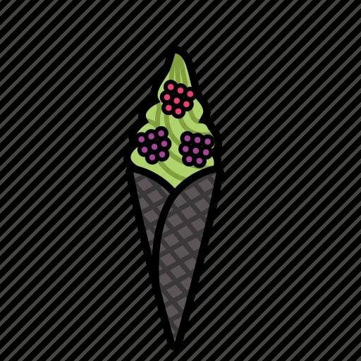 cold, fruit, ice, lykone, yoghurt icon