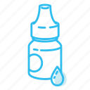 drops, eye drops, medical, ophthalmology, tube icon