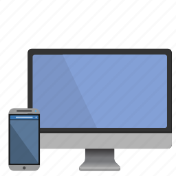 devices, gadgets, mac, screens, smartphone icon