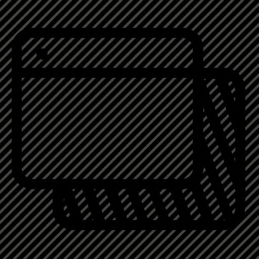 browser, copy icon