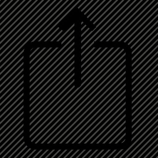 transfer, upload icon