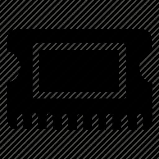 chip, computer, data, storage icon