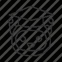 artificial intelligence, bot, chatbot, graduation cap, robot, teacher icon