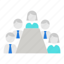 conference, discussion, meeting, scrum icon