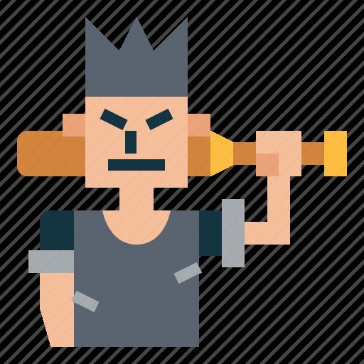 Gangster, hoodlum, ruffian, thug icon - Download on Iconfinder