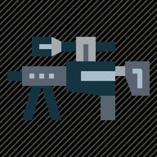 gun, rifle, sniper, weapon icon